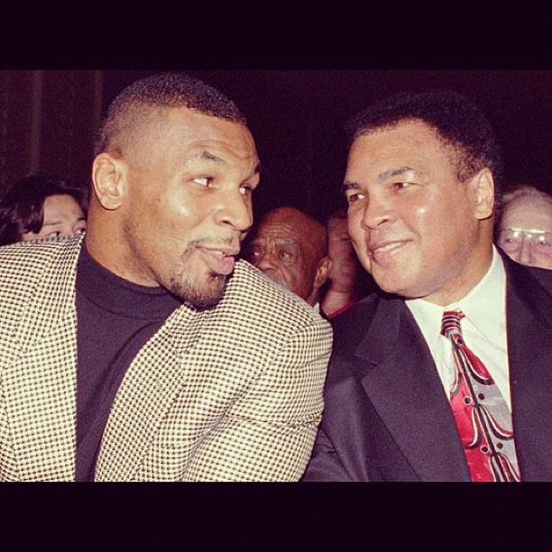 Тайсон: я хотел стать таким, как Мохаммед Али - Бокс/MMA.