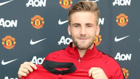 «Манчестер Юнайтед» официально объявил о подписании контракта с Шоу