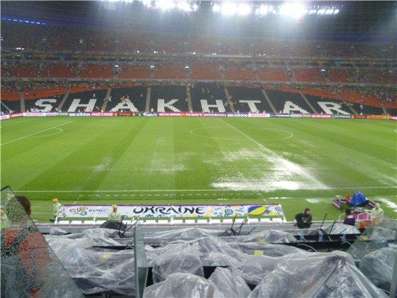 Матч украина – франция из за дождя