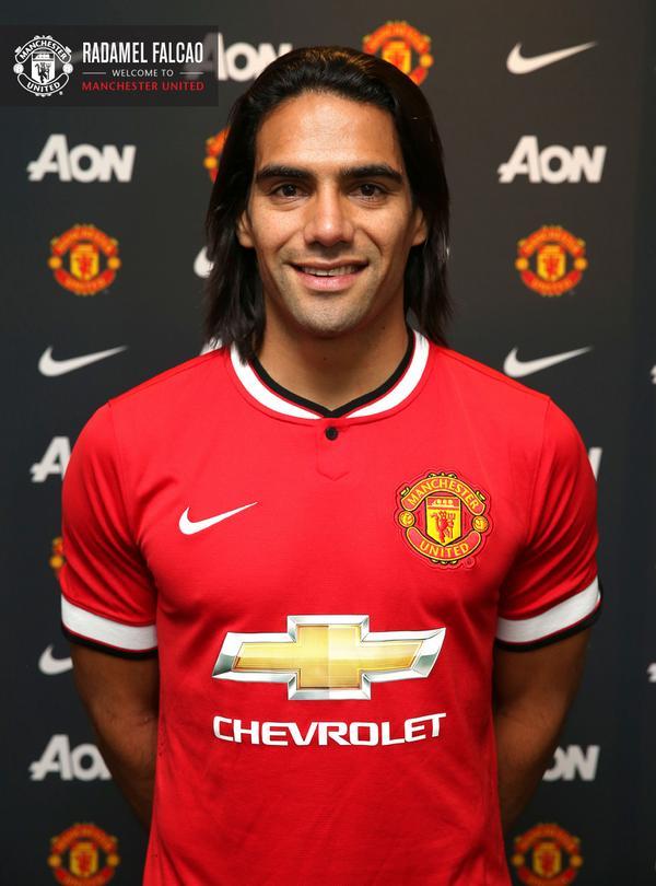 «Манчестер Юнайтед» официально подтвердил аренду Фалькао