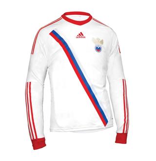 Adidas презентовал гостевую форму сборной России по футболу