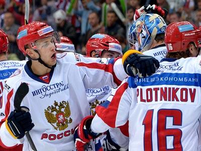 Сборная России уступила Чехии – 1:2