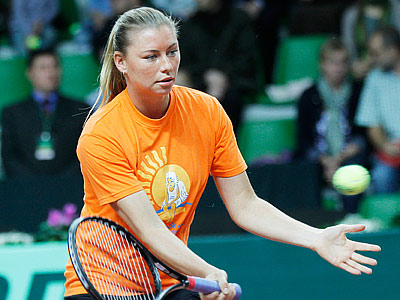Zvonareva: Thank you for participating in the Dementieva match