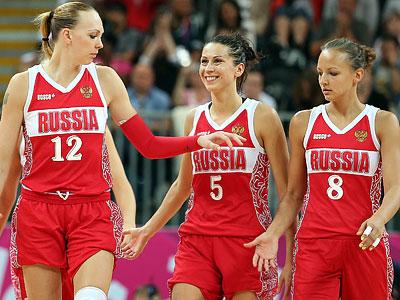 Лондон 2012 баскетбол женщины