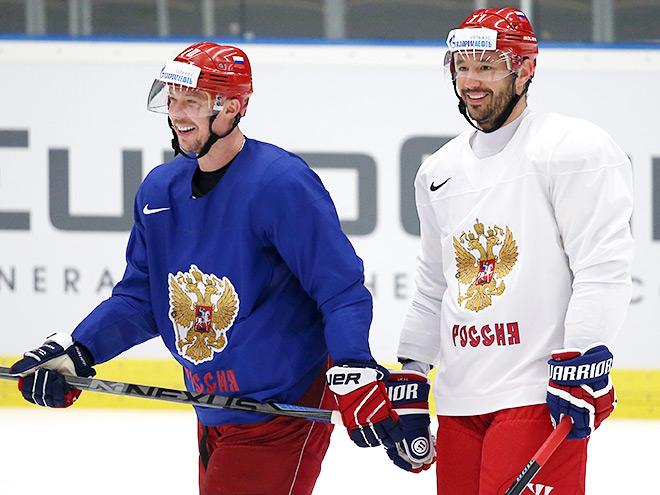 Как сборная России готовится к игре со Словакией?