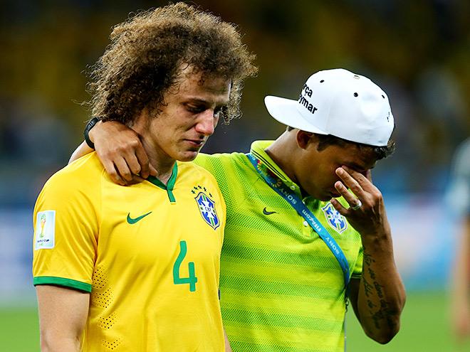 ЧМ-2014. 1/2 финала. Бразилия - Германия (обзор) [Футбол]