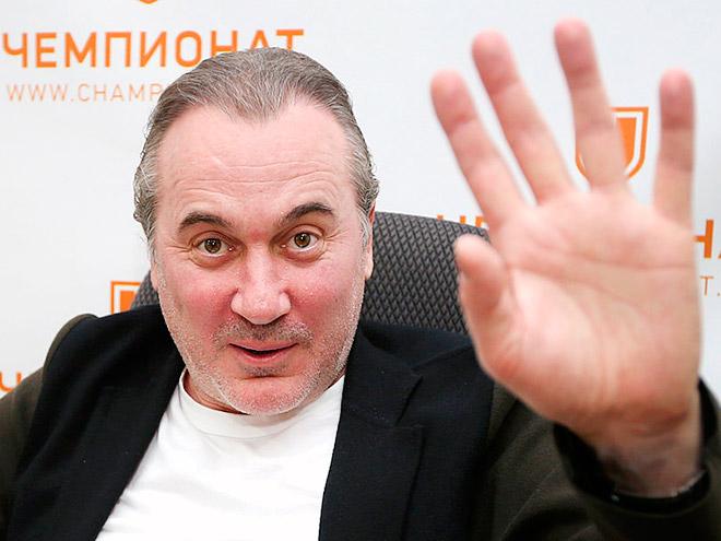 Хоккейный агент Юрий Николаев