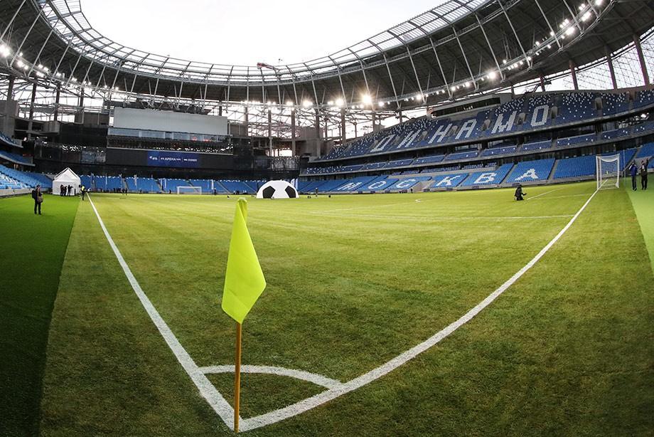 Новый стадион динамо 2018 фото