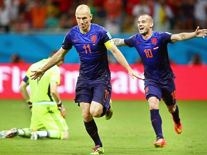 Испания – Нидерланды – 1:5