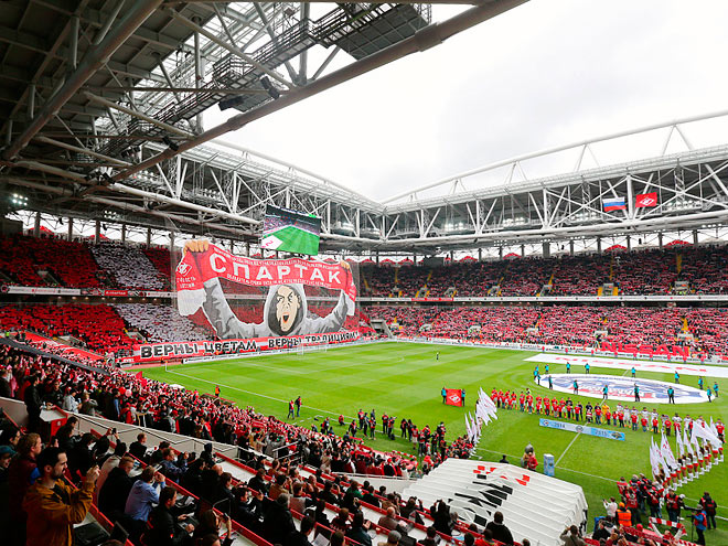 «Спартак» – самый посещаемый клуб за 10 лет