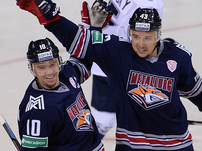 Ян Коварж и Сергей Мозякин