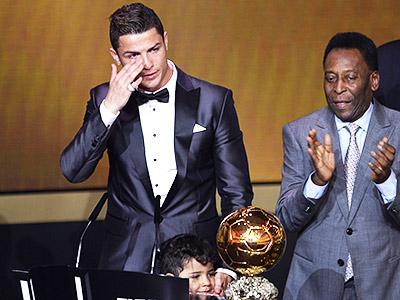 Роналду стал обладателем золотого