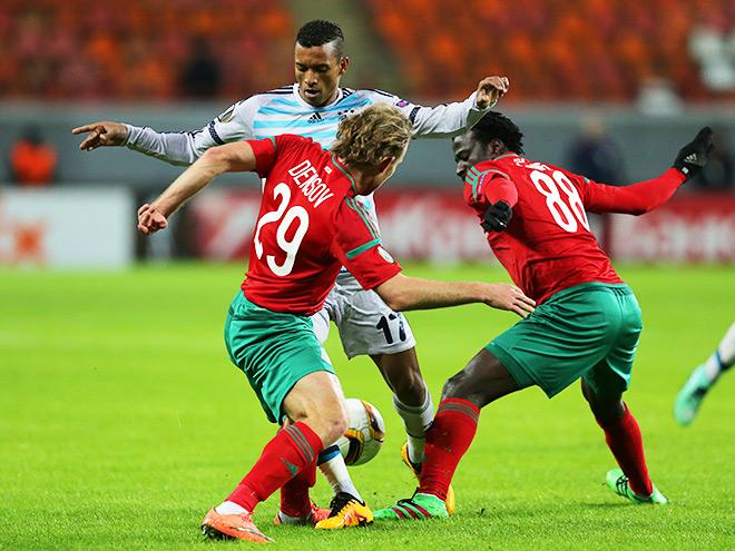 Локомотив — Фенербахче — 1:1