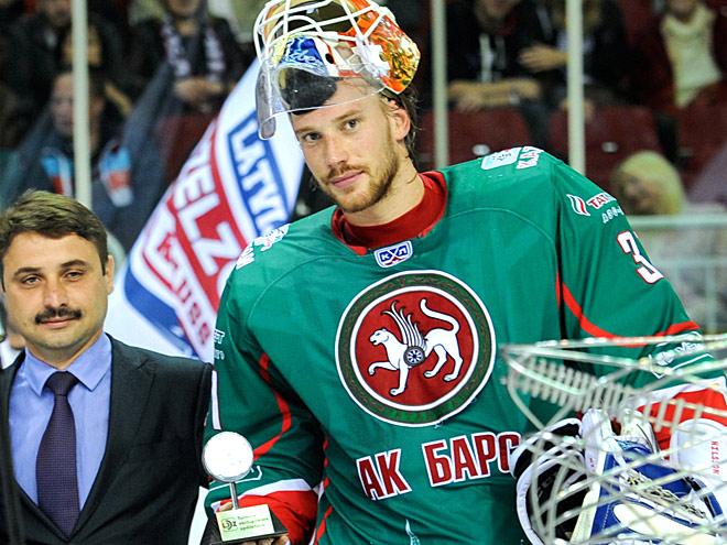 Нильссон: от мечты об НХЛ не отказываюсь