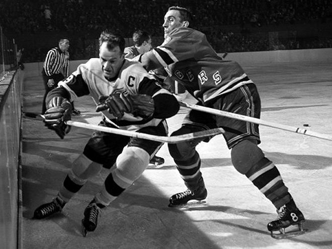 Горди Хоу – воплощение хоккея