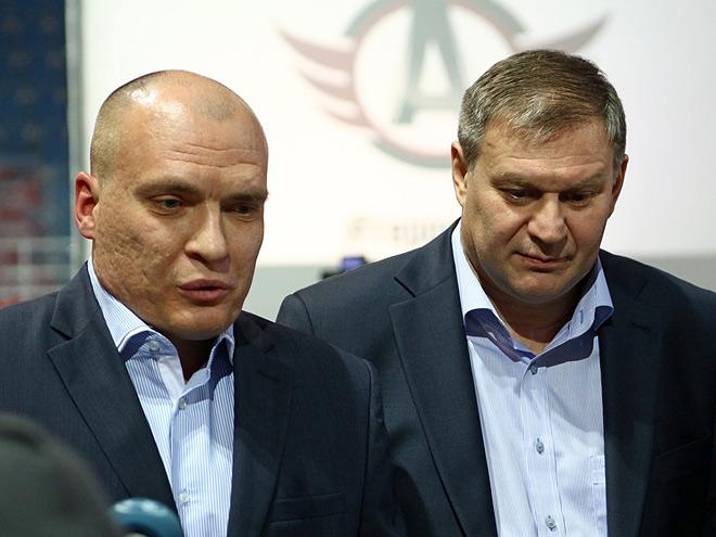 Андрей Разин и Олег Гросс