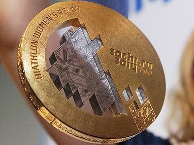 Представлены олимпийские медали Сочи-2014