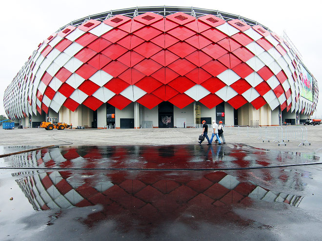Как добраться до нового стадиона «Спартака» - «Открытие Арены» (Фото)