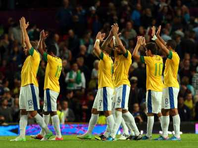 Сборная Бразилии. Олимпиада в Лондоне