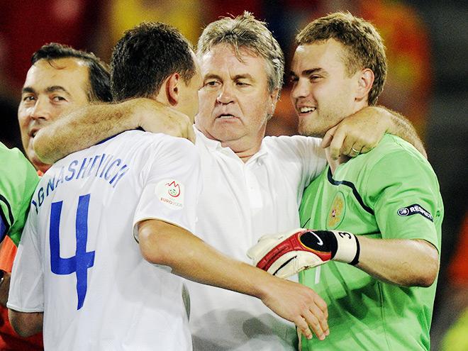 Гус Хиддинк в сборной России