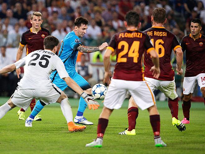 Рим не в радость Луису Энрике. Обзор матчей Лиги чемпионов