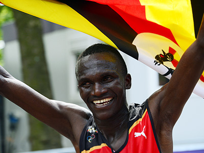 Стивен Кипротич из Уганды выиграл марафон в Москве