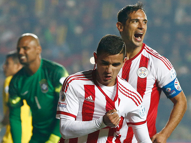 Бразилия – Парагвай. Обзор матча – 1:1 (3:4)