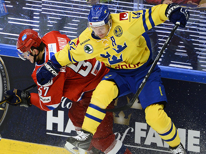 Швеция – Россия. Оценки хоккеистов