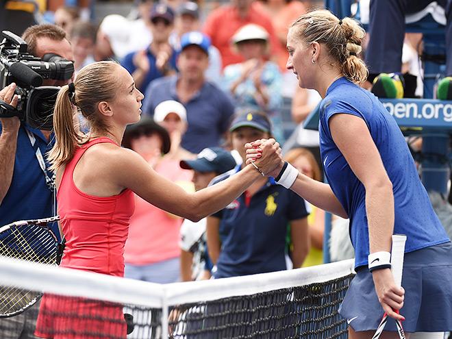 Крунич обыграла Квитову на US Open
