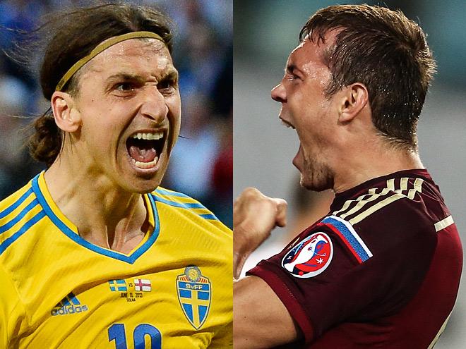 Ибрагимович vs Дзюба