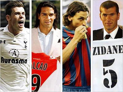 11 самых дорогих трансферов в истории футбола