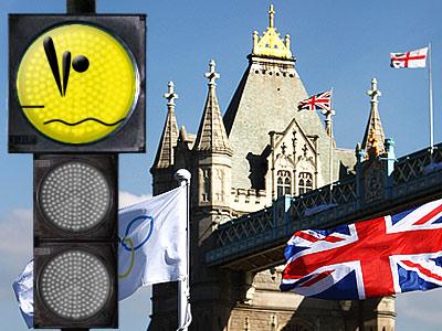 """""""Лондонский светофор"""". Прыжки в воду Фото: РИА Новости, Getty Images"""