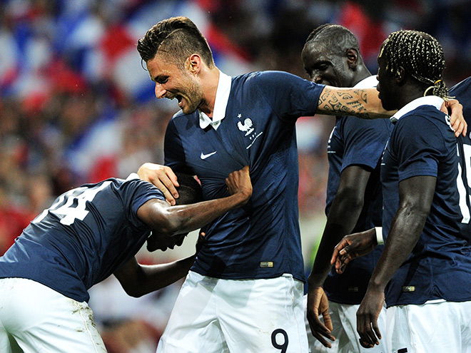 World Cup French Olivier Giroud  Olivier Giroud