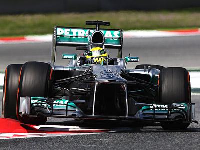 Льюис Хэмилтон стартует с первого ряда на Гран При Испании 2013
