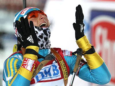 Вита Семеренко третья в индивидуальной гонке ЧМ-2011!