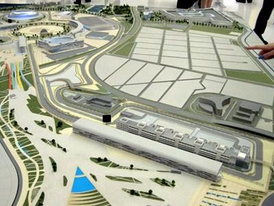 Строительство трассы Формулы-1