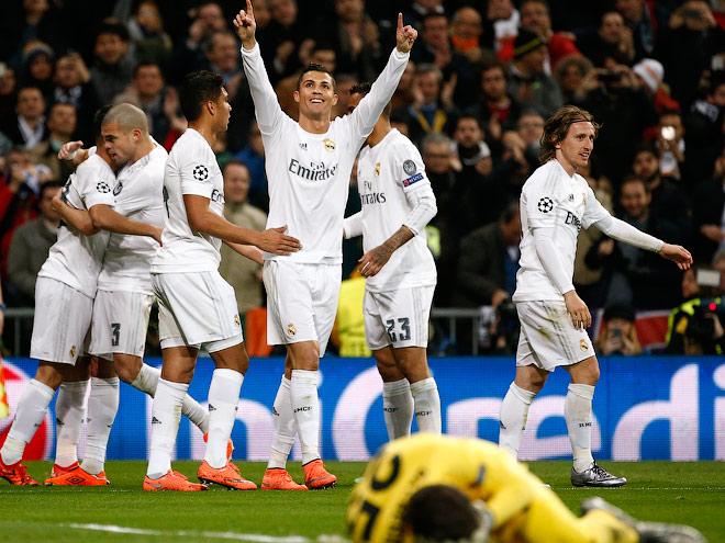 «Реал» и«Вольфсбург» стали первыми четверть финалистами Лиги чемпионов