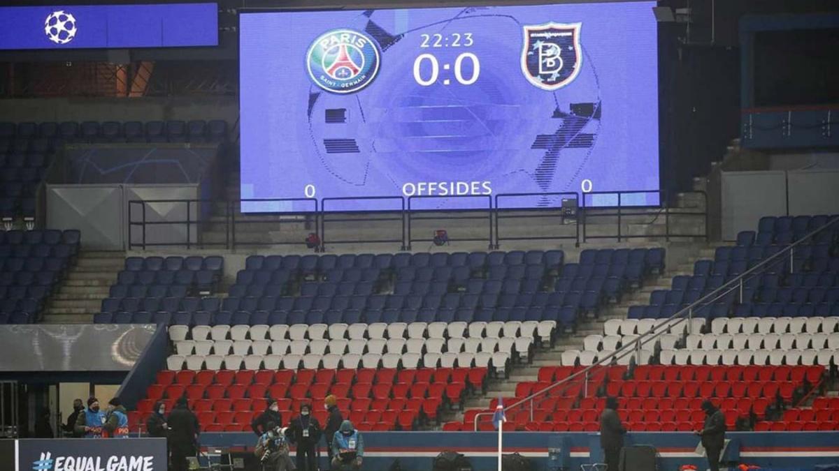 Матч «ПСЖ» — «Истанбул» перенесён на 9 декабря из-за расистского скандала -  Чемпионат