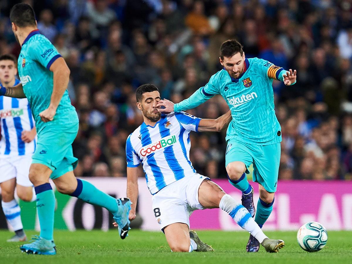 «Реал Сосьедад» — «Барселона» — 2:2 – голы, Месси, Эдегор, разбор матча