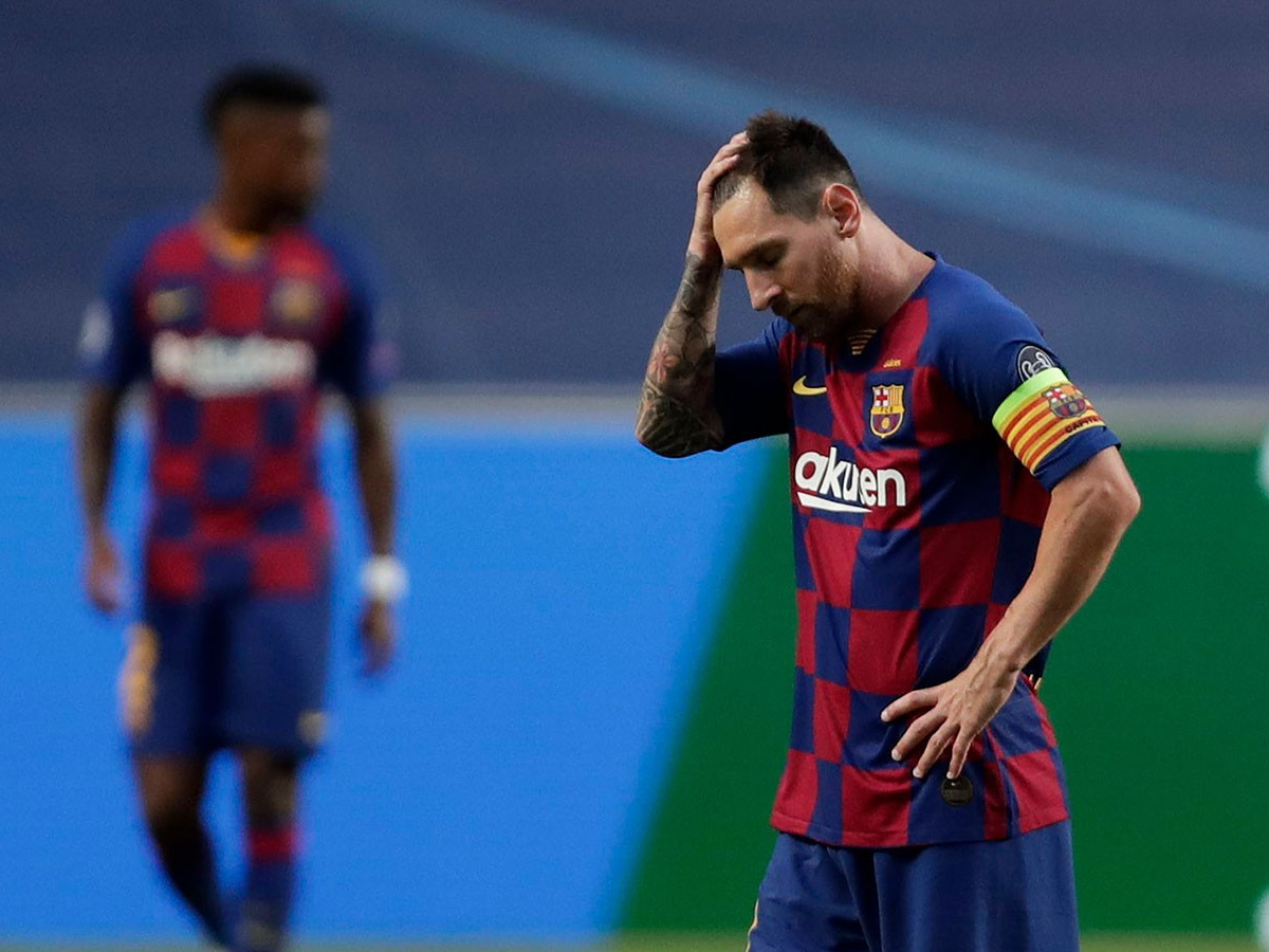 Poyavilos Foto Messi I Ter Shtegena V Razdevalke V Pereryve Matcha Barselona Bavariya Chempionat