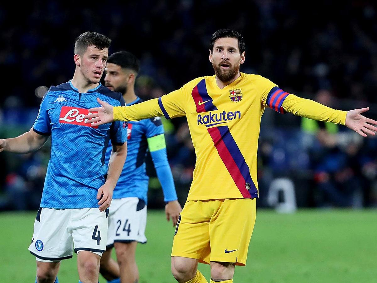 Футбол. лига чемпионов уефа. барселона испания милан италия