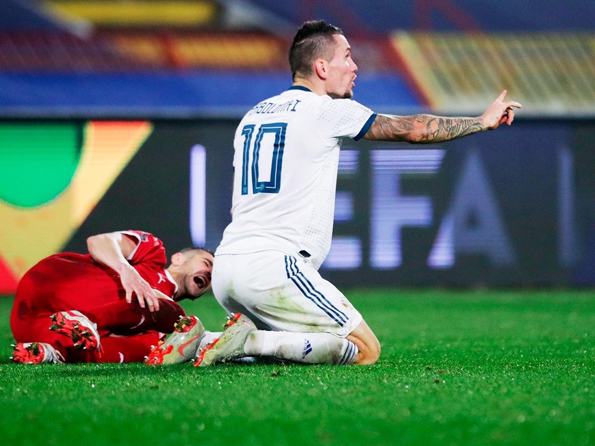 Сербия – Россия – 5:0, видео, голы, обзор матча, 18 ноября 2020 года, Лига  наций - Чемпионат