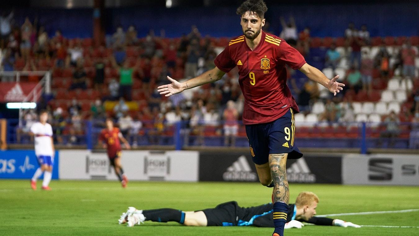 Матч молодежных сборных по футболу россия- испания