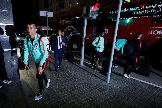 Сборная Португалии пофутболу прибыла вКазань для участия вКК-17