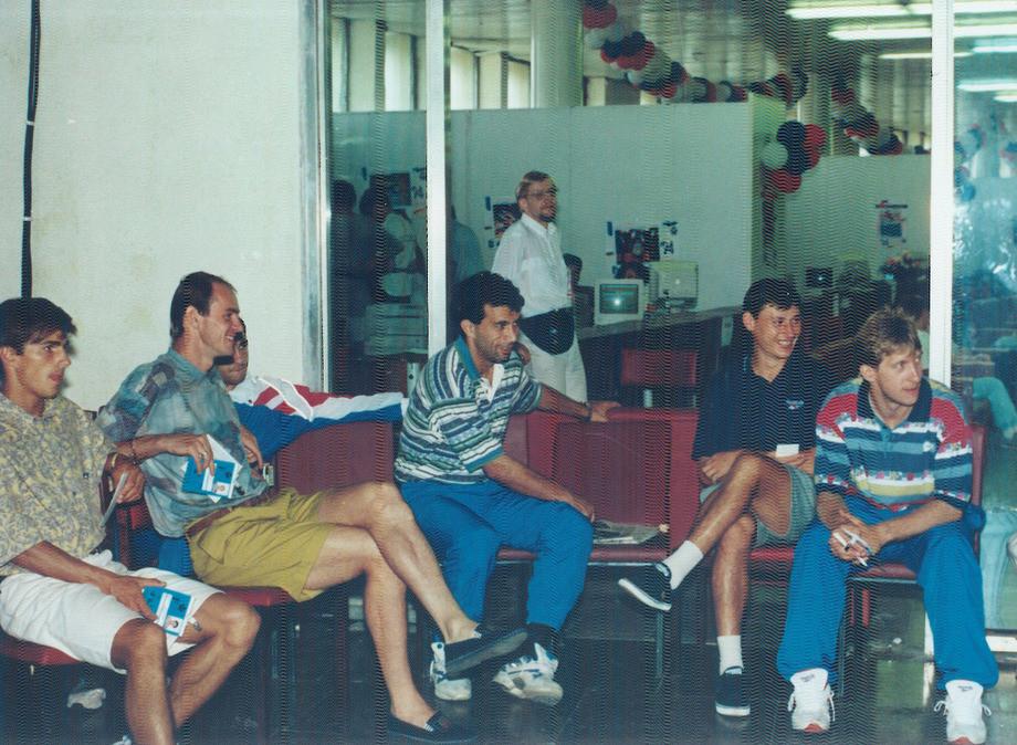 Игроки сборной России 1995 года