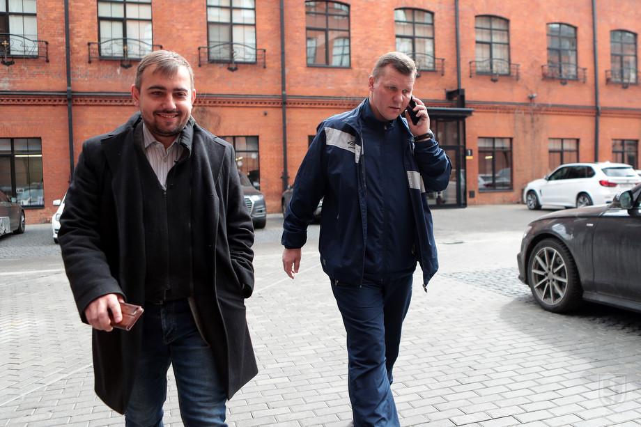 Денис Целых и Андрей Соломатин