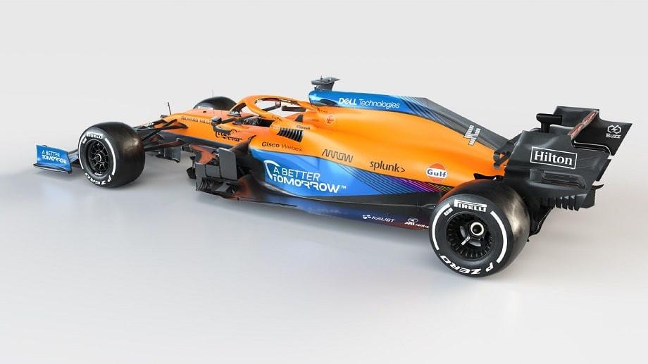 Представлена первая машина Формулы-1 2021 года! «Макларен» снова с «Мерседесом»!
