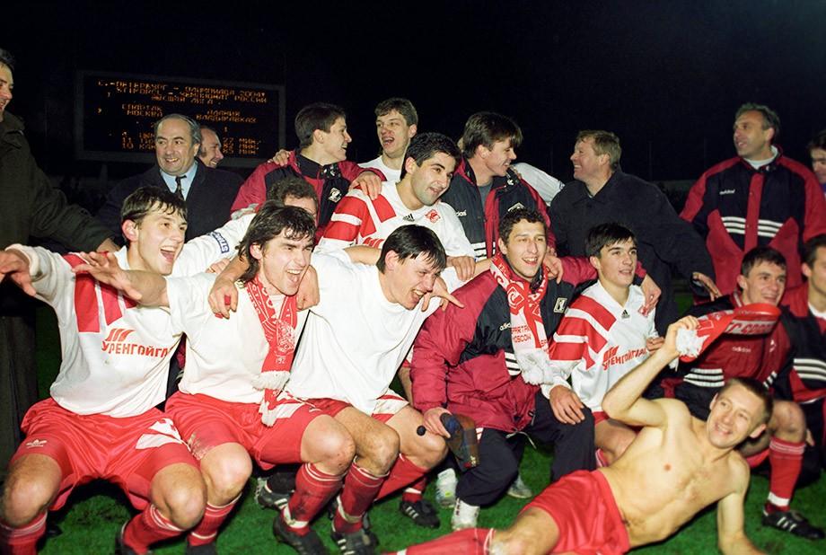 «Спартак»-чемпион 1996
