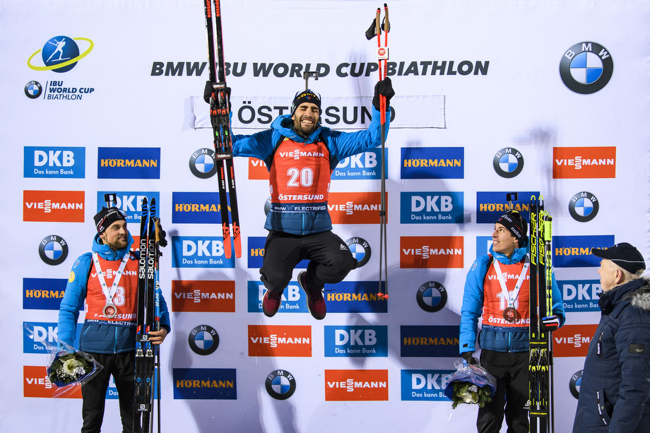 Биатлонист Мартен Фуркад выиграл впервые за год и назвал себя тигром