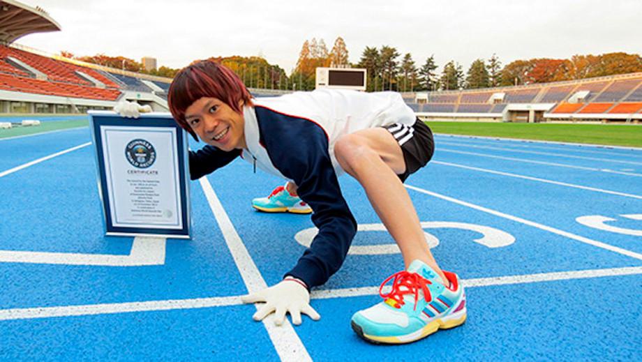 Японец Кенити Ито – странный мировой рекордсмен в беге на четвереньках: видео рекорда